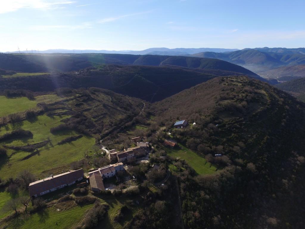 Briandes, petit hameau dans le Haut-Languedoc