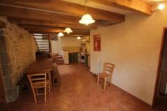 Gîtes de Briandes, Maison du Berger, salle à manger avec cuisine americaine